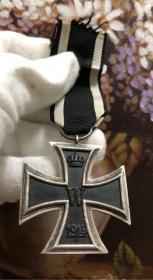 德国1914 二级铁十字勋章 厂标W 2级铁十字