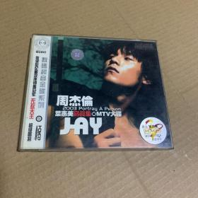 周杰伦 2003年老VCD 叶惠美写真集+MTV大碟(收录世纪最卖座销售冠军 无敌天王)