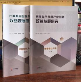 云南省有色金属产业创新效益发展研究.锡铟锗钛产业(上下册)