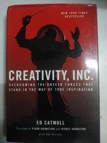 Creativity, Inc.:Overcoming the Unseen Forces That Stand in the Way of True Inspiration