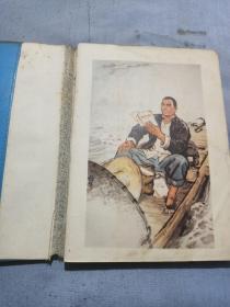日记本内有宣传画插图,读书笔记,日语笔记等。