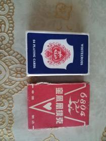 老扑克  松鼠702,金凤凰6804,WHITECROSS 1055  合售