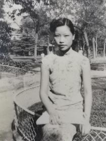 民国旗袍美女照片2