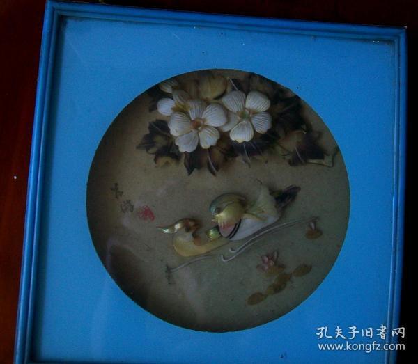 八十年代貝殼工藝品