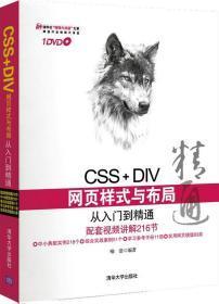 正版二手CSS+DIV网页样式与布局从入门到精通