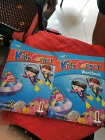 Kids Corner 1+Workbook(2册盒后,书内有笔记)