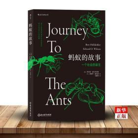 蚂蚁的故事 正版现货 插图普利策奖书目灵感动物科普百科生物多样性昆虫研究书籍 新华书店书籍