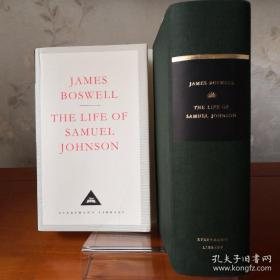 The Life of Samuel Johnson 约翰逊传/约翰逊博士传 James Boswell 詹姆斯·鲍斯韦尔 everyman's library 人人文库 英文原版 布面封皮琐线装订 丝带标记 内页无酸纸可以保存几百年不泛黄