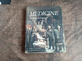 Medicine: An Illustrated History 8开精装 巨厚本 品见图