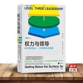 权力与领导(如何影响他人怎样激发正能量) 正版现货 领导学理论技巧集大成书籍 跨越心理学管理学经典 新华书店书籍