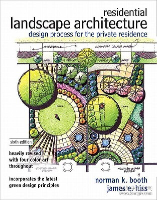 景观设计 Residential Landscape Architecture:Design Process for the Private Residence9780132376198