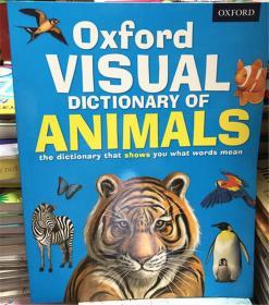 平装 Oxford Visual Dictionary of Animals  牛津动画视觉词典
