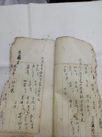 手抄中医  药方(53面)