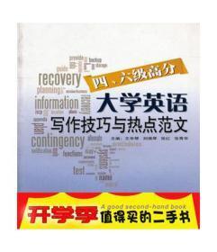 正版 大学英语四、六级高分写作技巧与热点范文 王华琴  东华