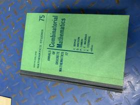 COMBINATORIAI MATHHEMATICS 内部交流 组织数学