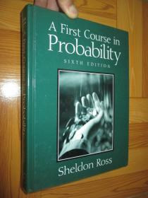 A First Course in Probability  (6th Edition)        16开,精装