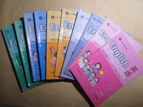 小学英语教材全套合售(1-5年级共10册)(牛津上海版)上海教育出版社,非全新,有不同程度的手写和勾画,上海及周边地区适用