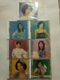 邓丽君歌曲精选专辑2,4,5,6,7,8,9共七盒