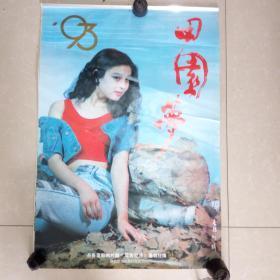 1993年挂历中国梦