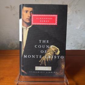 The Count of Monte Cristo 基督山伯爵 Alexandre Dumas 大仲马 everyman's library 人人文库 英文原版 布面封皮琐线装订 丝带标记 内页无酸纸可以保存几百年不泛黄