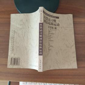 从禁忌习惯到法起源运动【新世纪法学丛书】