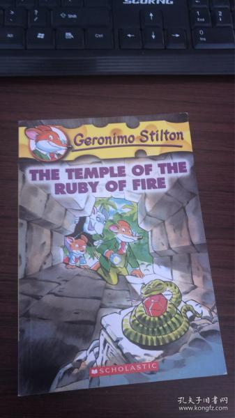 Geronimo Stilton #14: The Temple of the Ruby of Fire老鼠记者#14:烈焰红宝石神殿