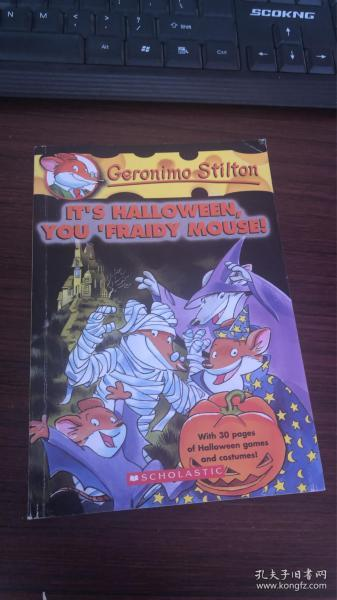Geronimo Stilton #11: It's Halloween You Fraidy Mouse! 老鼠记者#11:万圣节惊恐夜
