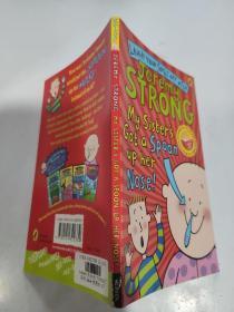 Jeremy strong my sister's got a spoon up her nose     杰里米·斯特朗我妹妹的鼻子里有个勺子...,'