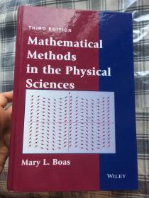 现货 Mathematical Methods in the Physical Sciences   3e 英文原版  物理科学中的数学概念  物理科学的数学方法(第3版)