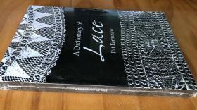 英文多佛经典 花边词典 A Dictionary of Lace Dover  时尚时装图案设计书 皇室奢华蕾丝 婚纱