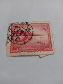 中国人民邮政四分颐和园。 (在4号箱)