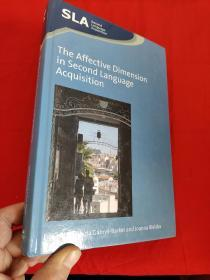 The Affective Dimension in Second Language Acquisition    (小16开,硬精装)   【详见图】