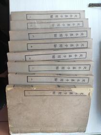 《定本墨子闲诂》全套八册