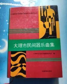 《中国民族民间器乐曲集成》云南卷丛书——大理市民间器乐曲集(精装本)
