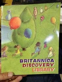 【请看实拍图小磨损,要求完美者请勿拍】BRITANNICA DISCOVERY LIBRARY【英文原版全彩页;封底有小的磨损;内页干净;请看图,实拍图片】