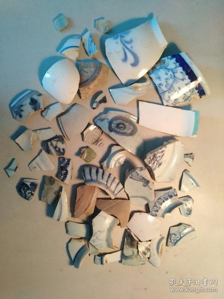 明清碎瓷片(约0.7千克)