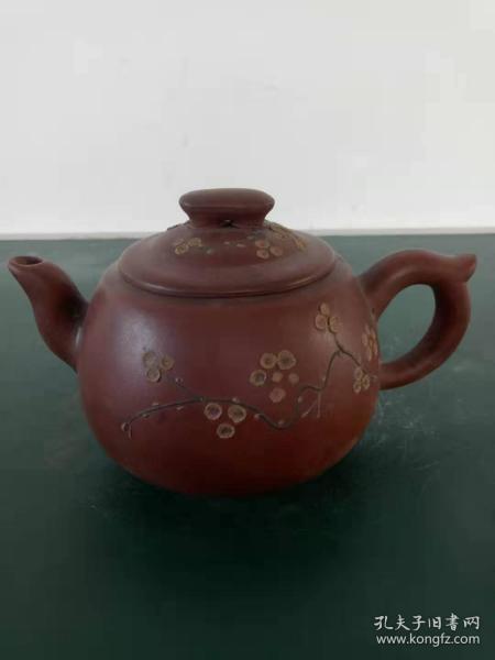 紫砂壶·精美梅花茶壶·实物拍照·详情见图·具体自鉴