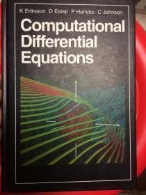 现货 Computational Differential Equations 2e 英文原版 计算微分方程 有限元法理论基础 偏微分方程的有限元数值解 偏微分方程有限元解法