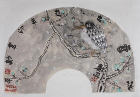 杨和平  《冰雪之交》 安徽著名画家