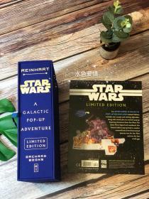 绝版星球大战立体书限量签名豪华版Star Wars: A Galactic Pop-Up