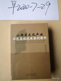 山西省文化产业示范基地发展案例精析