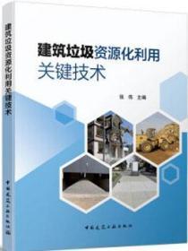 建筑垃圾资源化利用关键技术 9787112250363 张伟 中国建筑工业出版社 蓝图建筑书店