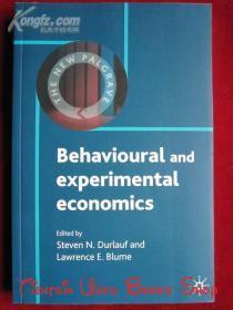 Behavioural and Experimental Economics(英语原版 平装本)行为与实验经济学