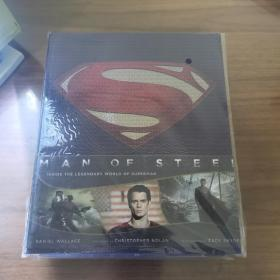 Man of Steel: Inside the Legendary World of Superman《超人:钢铁之躯》 电影画册