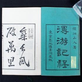 【木村嘉平刻本】中井弘 鲁西亜土耳其《漫遊记程》 上下巻  日本人出使欧美记录  和刻本 木板  2册全