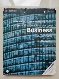 Cambridge International AS and A Level Business Coursebook(带光盘)