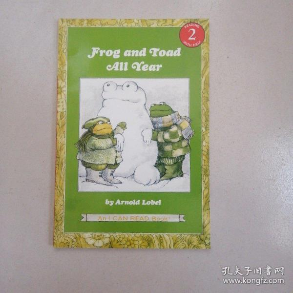 Frog and Toad All Year (I Can Read, Level 2)青蛙和蟾蜍的一年 英文原版