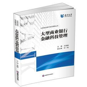 大型商业银行金融科技管理