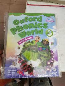 Oxford Phonics World 3(书+练习册+光盘)