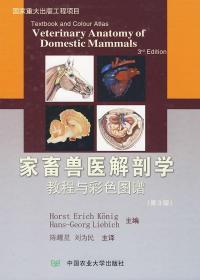 家畜兽医解剖学教程与彩色图谱-(第3版)
